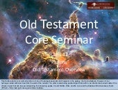 Session 12 Old Testament Overview -...
