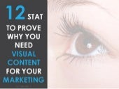 12 Stats to Prove Why You Need Visual Content For Your Marketing