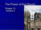 13.4 the power of the church (1)