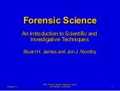 13  Forensic Science Powerpoint Cha...