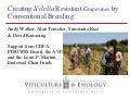 Creating Xylella Resistant Grapevines by Conventional Breeding - Andy Walker - Pierce's Disease Conference 2008