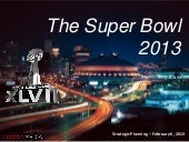SUPER BOWL 2013 (English version)