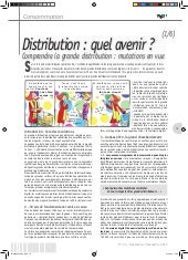 Comprendre la grande distribution :...