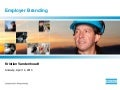 Employer Branding @ Atlas Copco
