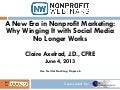 A New Era in Nonprofit Marketing: Why Winging It with Social Media No Longer Works