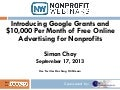 Introducing Google Grants and $10,000 Per Month of Free Online Advertising for Nonprofits