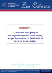 Cahier n°11 de l'IESF - Transition ...