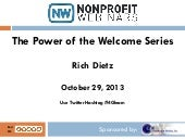 The Power of the Welcome Series