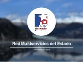 Red Multiservicios del Estado, Chil...