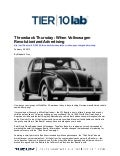 Throwback Thursday: When Volkswagen Revolutionized Advertising