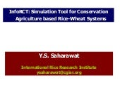 InfoRCT: simulation tool for CA bas...