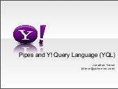 Yahoo Pipes Middleware In The Cloud