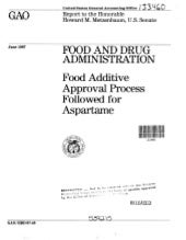 FDA:  Food Additive Approval Proces...