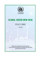 Global Green New Deal Policy Brief