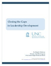 Closing the Gaps in Leadership Deve...