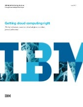 Getting cloud computing right