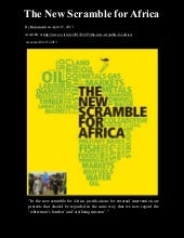 The New Scramble for Africa | By Ha...