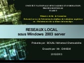 Réseau local sous windows 2003 server