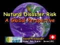 A Global Perspective on Disaster Management