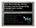 How Many Rungs?: Social Change and the Expanding Engagement Ladder - 2013 Nonprofit Technology Conference - #13NTC