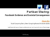 About Partisan Sharing at COSN 2014