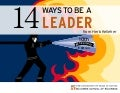 14 Ways to be a Leader
