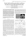 Texture Unit based Monocular Real-world Scene Classification using SOM and KNN Classifier