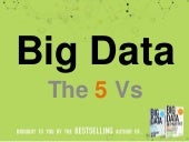 Big Data - The 5 Vs Everyone Must Know