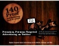 140 Proof, Intro for Advertisers. Targeted, In-App Advertising to Make Your Business Rock