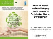 SEEDS of Health and Health Equity