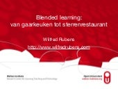 Gastcollege blended learning Windesheim