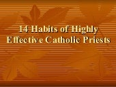 14 Habits Of Highly Effective Catho...
