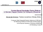 Context-Based Knowledge Fusion Patt...