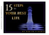15 Steps to Your Best Life