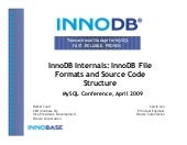 Inno Db Internals Inno Db File Form...