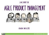 Lean Startup for Agile Product Management
