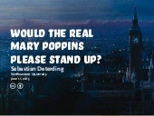 Gamification and Designing for Fun: Will the Real Mary Poppins Please Stand Up?