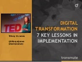 Digital Transformation: 7 Key Lessons in Implementation