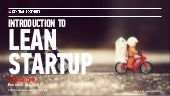 Intro To Lean Startup (8 Oct 2015)