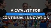 Google's Creative Culture: A Catalyst for Continual Innovation