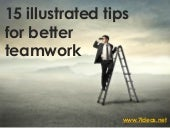 15 illustrated teamwork tips