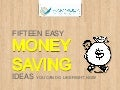 15 Easy Money Saving Tips