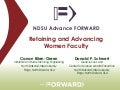 ICWES15 - Retaining and Advancing Women Faculty. Presented by Dr Canan Bilen-Green, North Dakota State University, United States