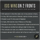 ISIS Wins on 2 Fronts
