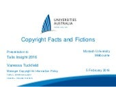 16 copyright facts and fictions