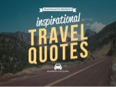 16 travel quotes to inspire you to hit the road!