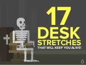 17 Desk Stretches That Will Keep You Alive