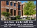 oversized lakeview home for sale . reduced price . new construction . august 1 open house