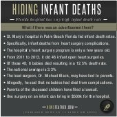 Hiding Infant Deaths