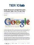 Image Extension for Google Search Ads, Anticipated Higher Click-Through Rates